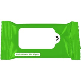 Antibacterial Wet Wipe Packet for Customization