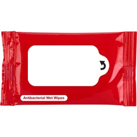 Antibacterial Wet Wipe Packet for your School