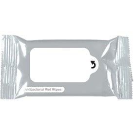 Company Antibacterial Wet Wipe Packet
