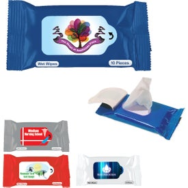 Antibacterial Wet Wipe Packet for Promotion