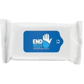 Personalized Antibacterial Wet Wipes in Pouch