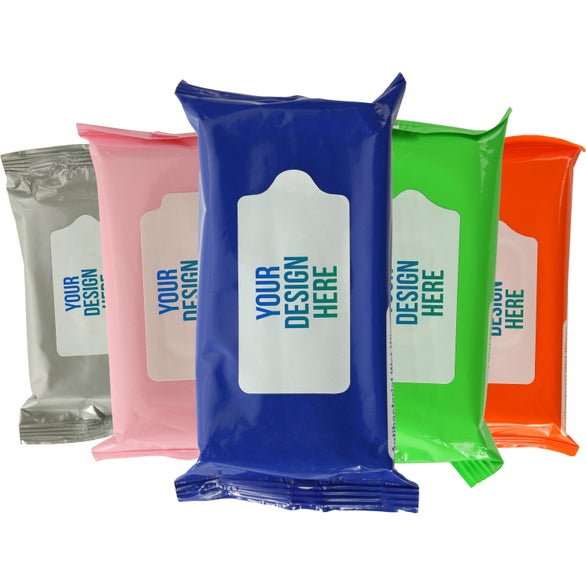 Antibacterial Wet Wipes in Pouch