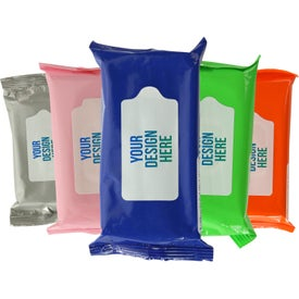 Antibacterial Wet Wipes in Pouch (Full Color)