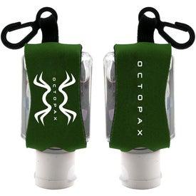 Branded Antibacterial Hand Sanitizer with Neoprene Sleeve
