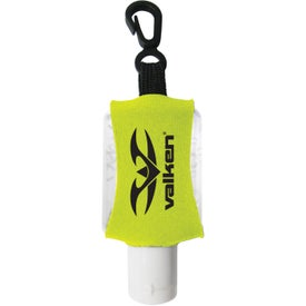 Antibacterial Hand Sanitizer with Neoprene Sleeve Branded with Your Logo