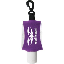 Personalized Antibacterial Hand Sanitizer with Neoprene Sleeve