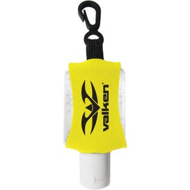Custom Antibacterial Hand Sanitizer with Neoprene Sleeve