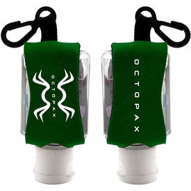 Antibacterial Hand Sanitizer with Neoprene Sleeve for Promotion