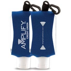 Advertising Antibacterial Hand Sanitizer with Neoprene Sleeve