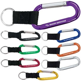 "Anodized Carabiner (5.625"" x 1.625"" x 0.25"")"