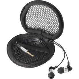 Promotional Apollo Ear Buds With Mic