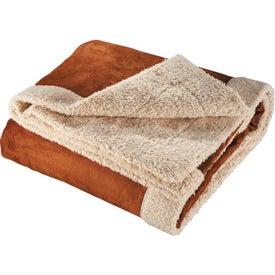 Printed Appalachian Sherpa Blanket