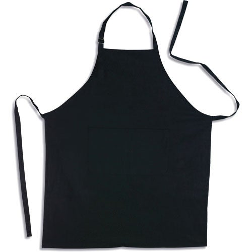 Black Apron with Pocket