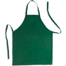 Logo Apron with Pocket