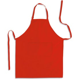Apron with Pocket for Advertising