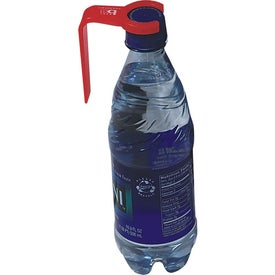 Imprinted Aqua Clip Bottle Opener