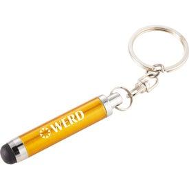 Promotional Aria Stylus Keychain