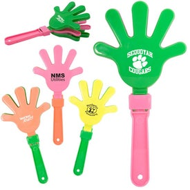 Assorted Neon Color Hand Clapper
