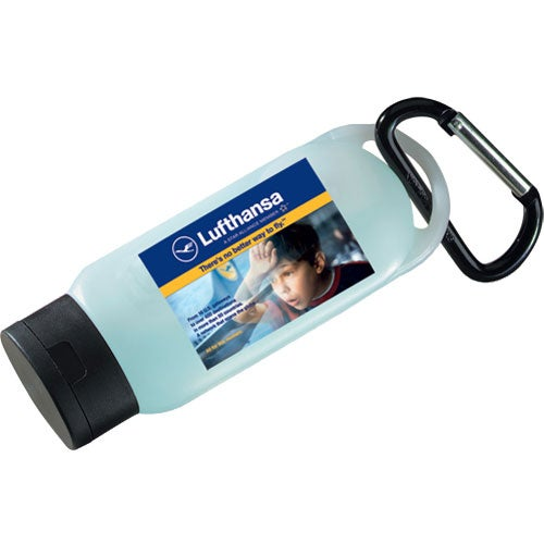Atlantic Antibacterial Gel and Carabiner