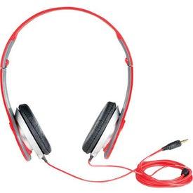 Atlas Headphones with Your Slogan