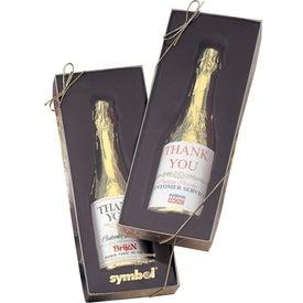 Auberge Chocolate Champagne Bottle