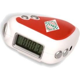 Advertising Audio Jogger Pedometer/FM Radio