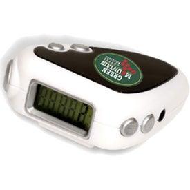 Audio Jogger Pedometer/FM Radio for Advertising