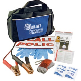 Auto Emergency Zipper Tote Bag Kit