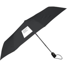 Branded Auto Open Auto Close Deluxe Umbrella
