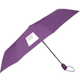 Printed Auto Open Auto Close Deluxe Umbrella