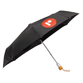 Logo Auto Open Close Umbrella