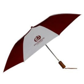 Branded Auto Open Folding Umbrella