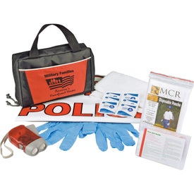 Customized Auto Safety Kit In Tote Bag