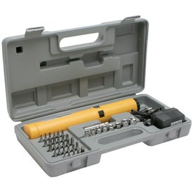 Automatic Screwdriver Ratchet Set Branded with Your Logo
