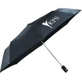 Customized Auto Open Flashlight Umbrella