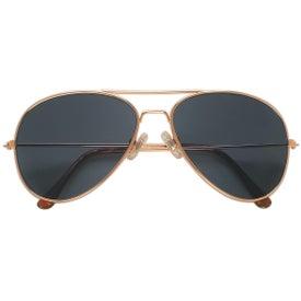 Printed Aviator Sunglasses
