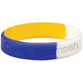 Awareness Bracelet Imprinted with Your Logo