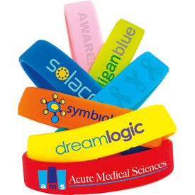 Silicone Awareness Wristband (Unisex)