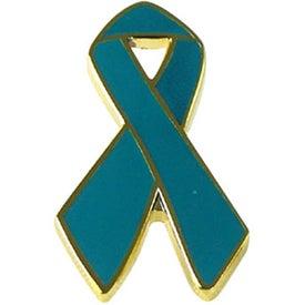 Customized Awareness Ribbon Lapel Emblems