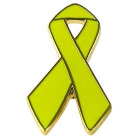 Awareness Ribbon Lapel Emblems for your School