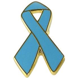 Logo Awareness Ribbon Lapel Emblems