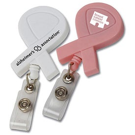 Awareness Ribbon Retractable Badge Holder