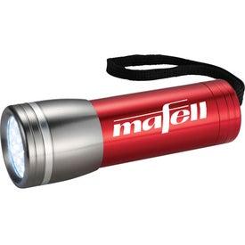 Branded Axis 14 LED Flashlight