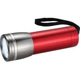 Imprinted Axis 14 LED Flashlight