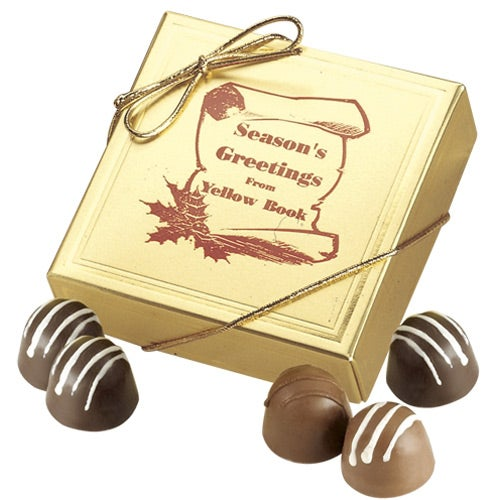 Bach Gift Boxed Chocolate (4 Truffles)