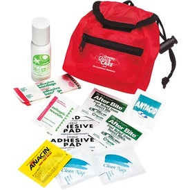 Logo Backpack First Aid Kit