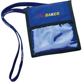 Badge Holder with Lanyard