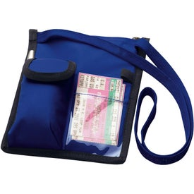 Branded Badge Holder with Lanyard