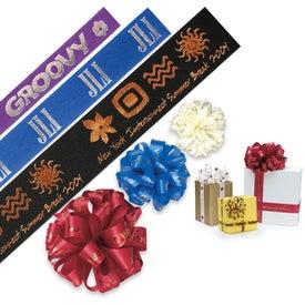 Branded Badge Satin Ribbon