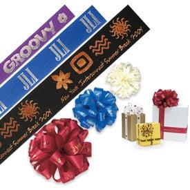 Advertising Badge Satin Ribbon